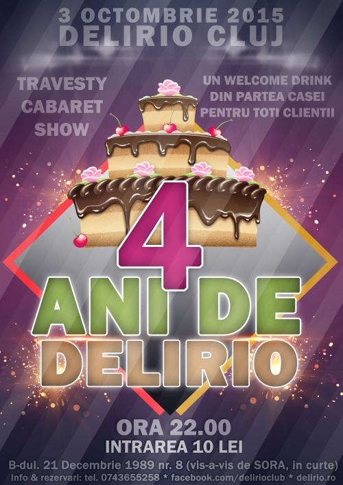 4 ANI DE DELIRIO