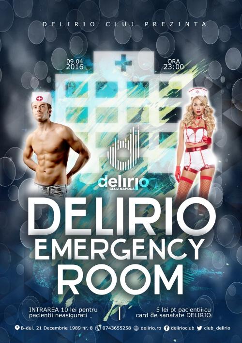DELIRIO EMERGENCY ROOM
