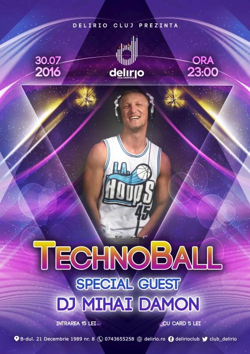 TECHNOBALL with DJ MIHAI DAMON