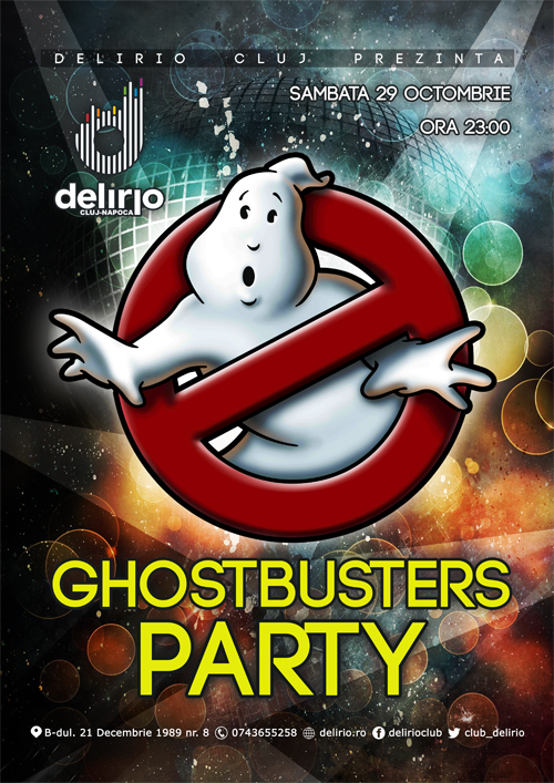 GHOSTBUSTER PARTY