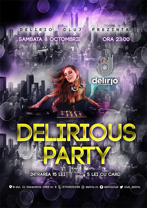 DELIRIOUS PARTY