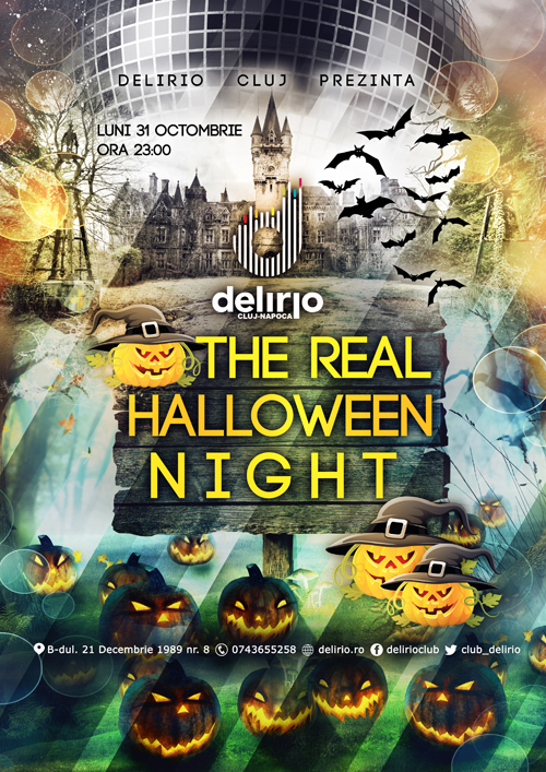 Luni 31 Octombrie: THE REAL HALLOWEEN NIGHT