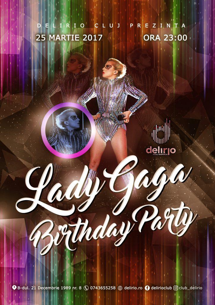 LADY GAGA BIRTHDAY PARTY