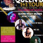 sambata 1 aprilie: QUEEN B / NALAYA / MC SO / SPECIAL GUEST: SEAN MILEY MOORE (X Factor UK)