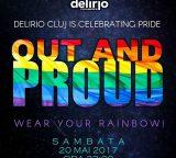 sambata 20 mai: OUT AND PROUD