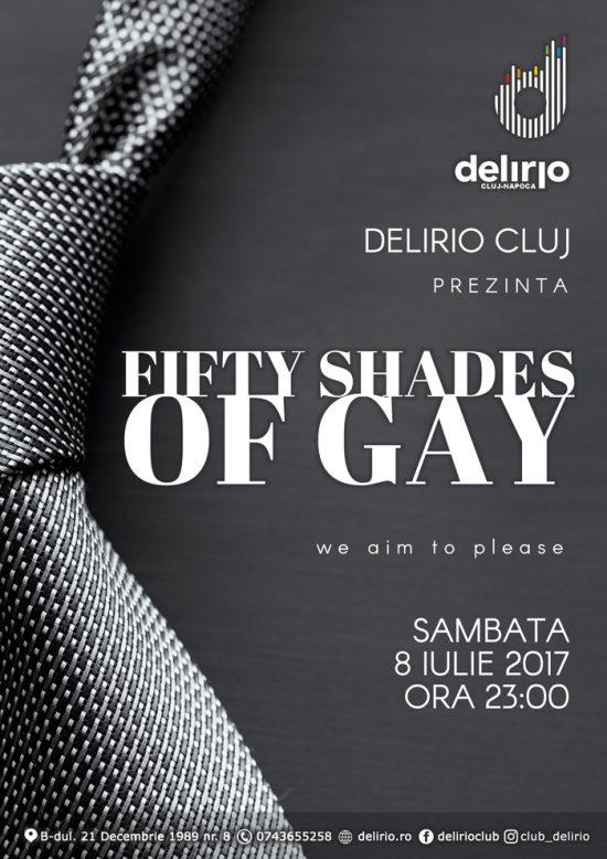 Sambata 8 Iulie: FIFTHY SHADES OF GAY
