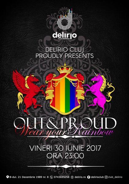 Vineri 30 Iunie: Wear your Rainbow!