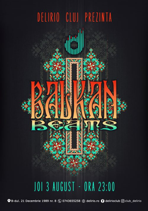joi 3 august: BALKAN BEATS
