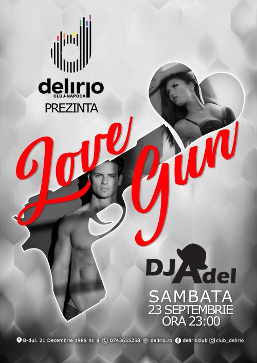 Sambata 23 septembrie: LOVE GUN