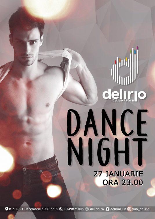 Sambata 27 ianuarie: DANCE NIGHT
