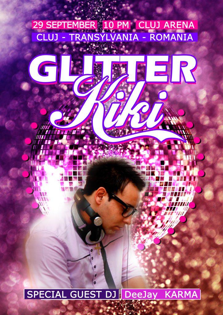 Glitter KIKI @ Cluj Arena VIP Lounge