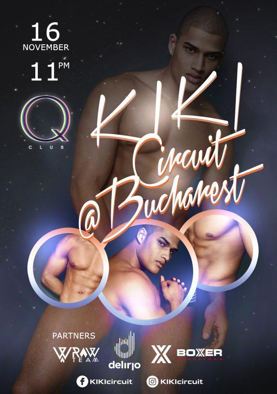 Vineri 16 Noiembrie: KIKI CIRCUIT @ BUCHAREST