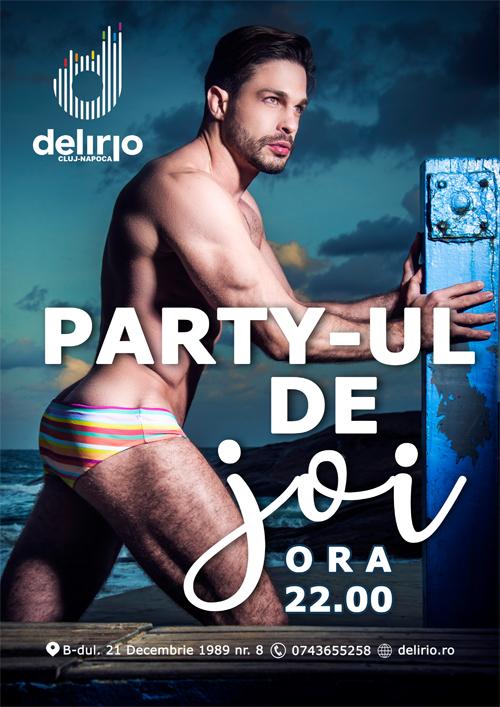 Joi 4 Iulie 2019: PARTY-UL DE JOI