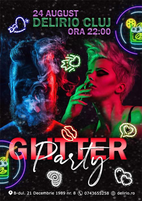 Sambata 24 august 2019: GLITTER PARTY
