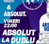 Vineri 6 martie 2020: ABSOLUT LA DUBLU