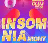 Sambata 11 Ianuarie 2020: INSOMNIA NIGHT