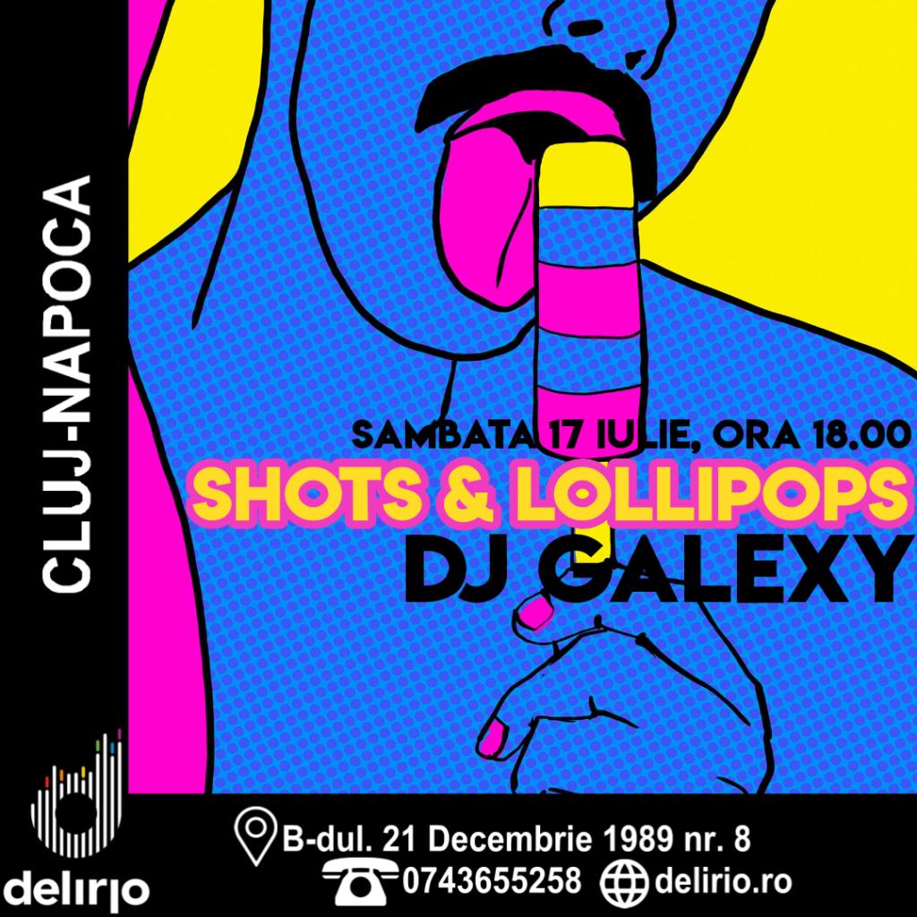 CLUB: SHOTS & LOLLIPOPS