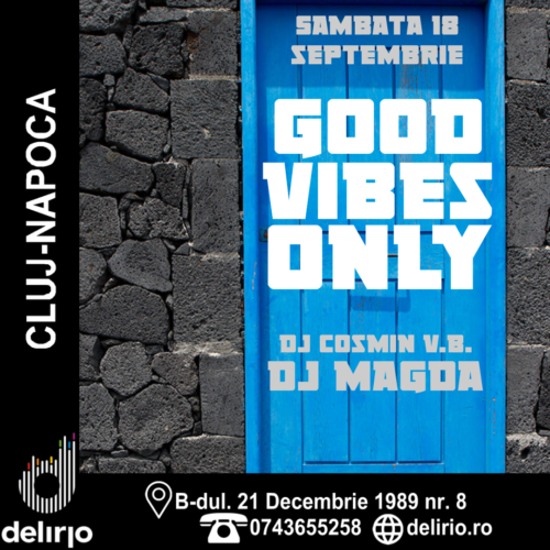 CLUB: GOOD VIBES ONLY